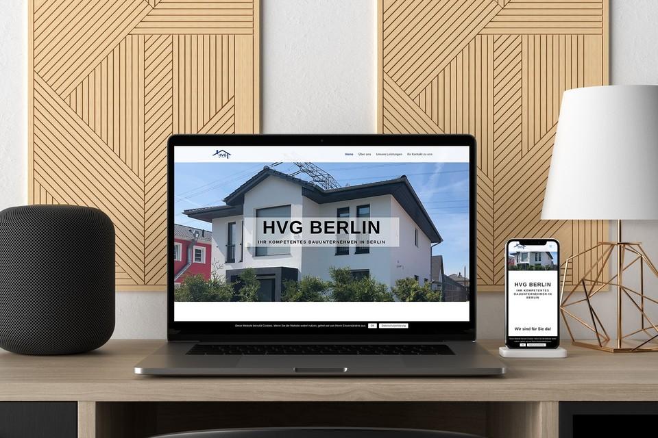 Webdesign HVG Berlin Webseite