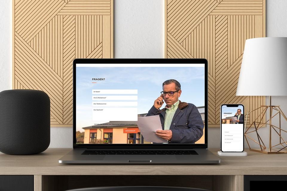 Webdesign Projekt Hessebau Divi Theme Unternehmen Beispiel