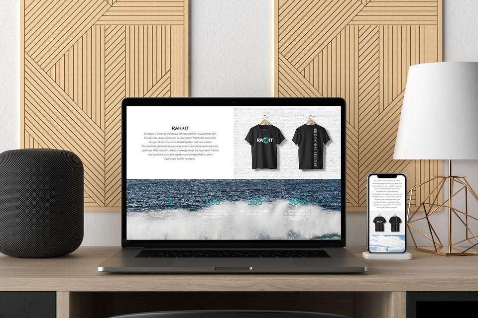 Rakkit Webdesign Onlineshop