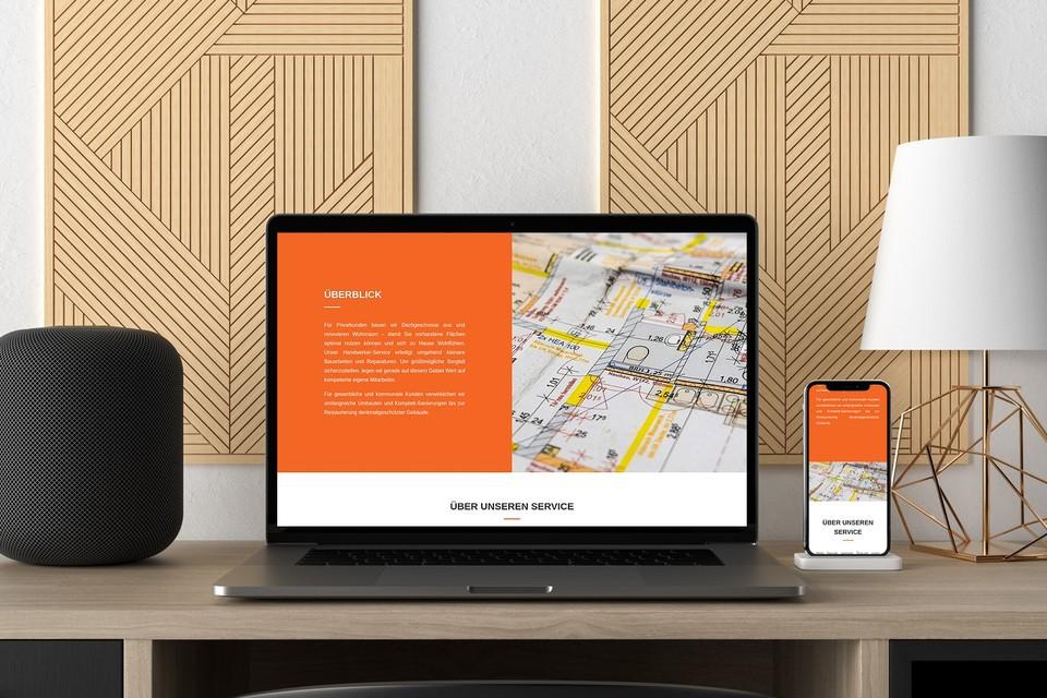 Webdesign Projekt Hessebau Bauunternehmer