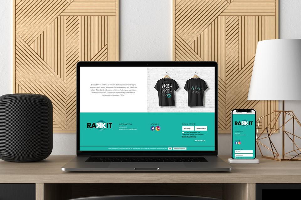 Rakkit Webdesign woocommerce template