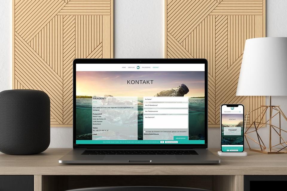 Rakkit Webdesign Divi Wordpress Theme Template