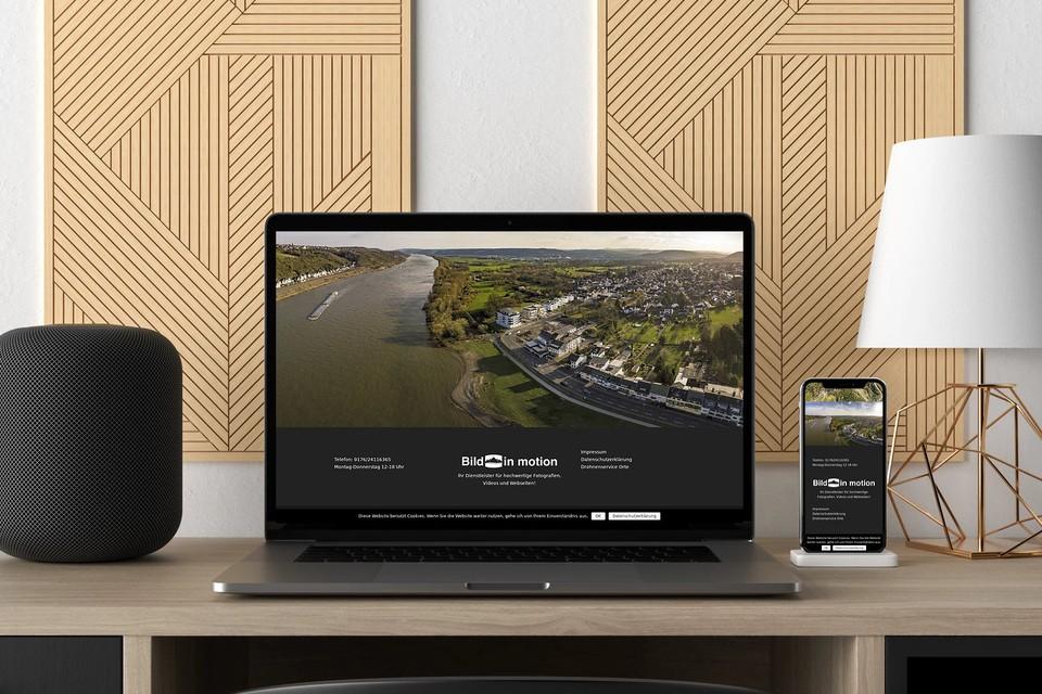 Webdesign Drohne Website erstellen lassen