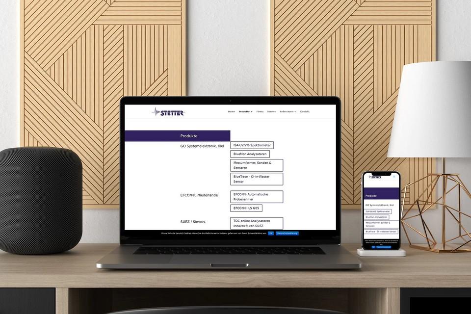 Webdesign Homepage Unternehmen