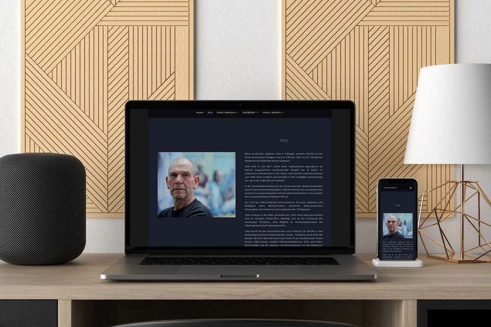 Webdesign Klaus Armbruster