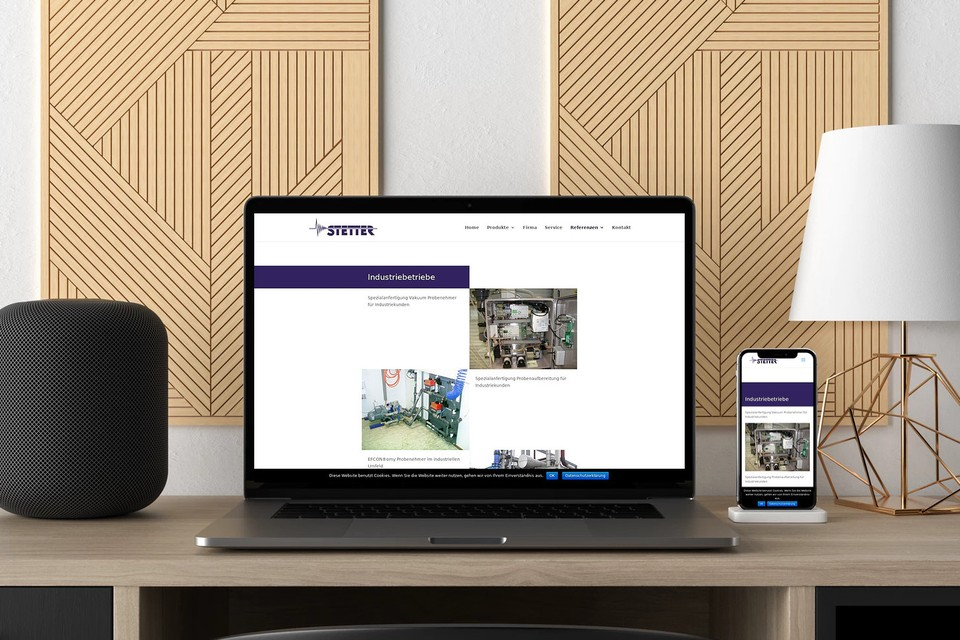 Webdesign Homepage KMU