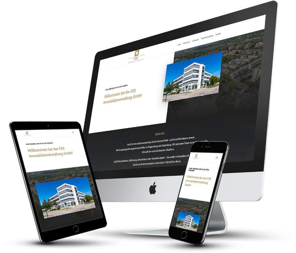 Webdesign Website Erstellung Hosting