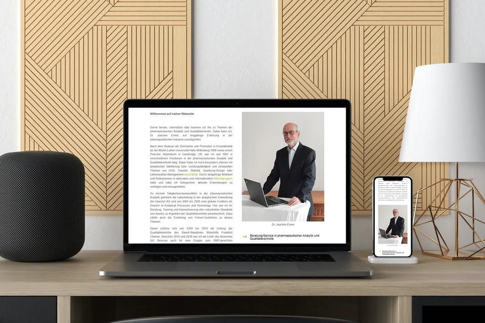 Webdesign Beratungsunternehmen
