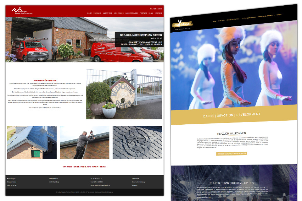Webdesign Ehingen (Donau) WordPress Website erstellen lassen