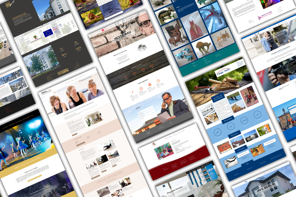 Webdesign Bruchköbel WordPress Website Erstellung